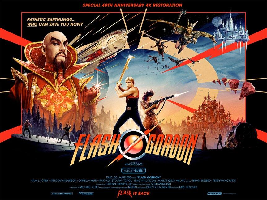 Dead Night Cinema: Flash Gordon(Live)